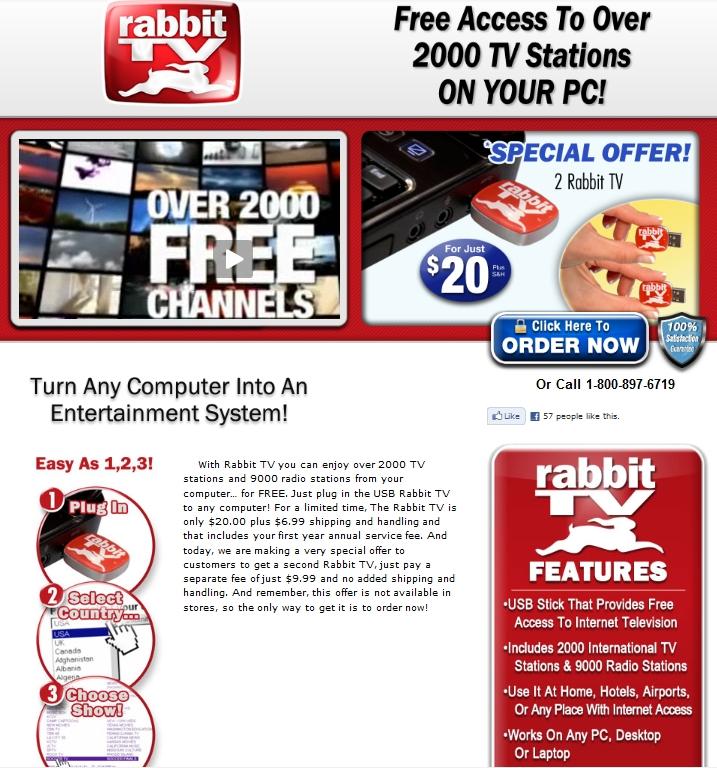 The SciMark Report: Review: Rabbit TV