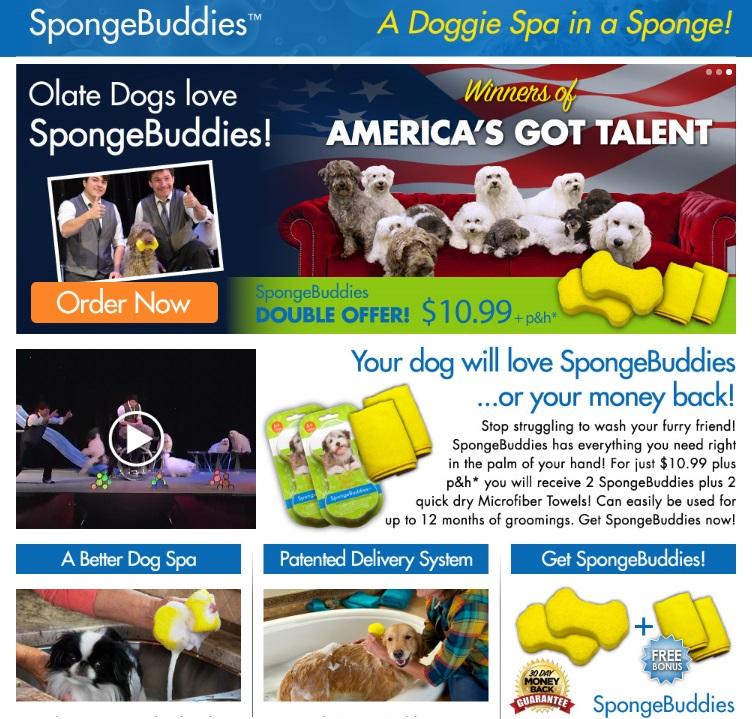 Sponge Buddies Commercial ss Sponge Buddies
